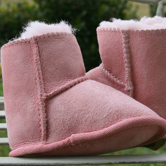 Baby Slippers - Pink