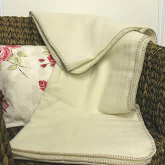Wool Blanket Woven Edge