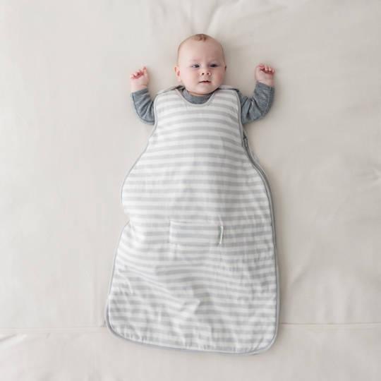 Mini 3-Seasons Side Zip Sleeping Bag (0 - 9 months) - Pebble