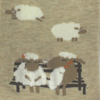 Nice To Meet Ewe Socks