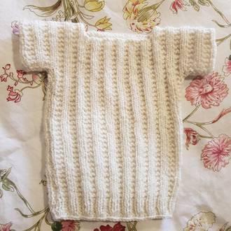 Organic Merino Wool Singlet - Premature