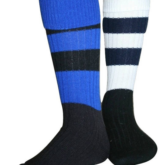 Rugby Socks - pack of two pairs. Priced from $20
