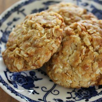 ANZAC biscuits cosy toes
