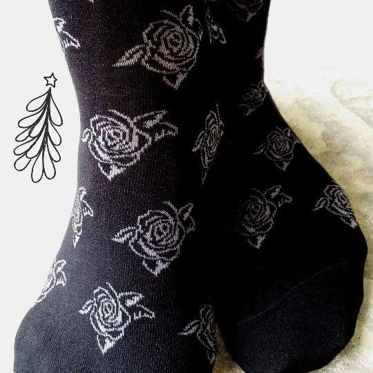 Christmas gift idea rose socks