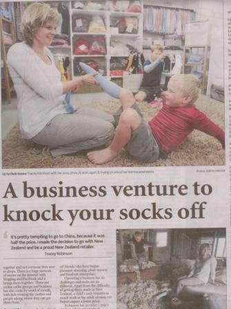 Cosy-Toes-The-Chch-Press-Mainlander-Article