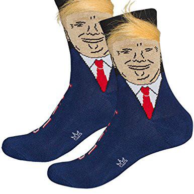 Donald Trump Socks cosy toes