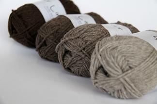 Skeins wool