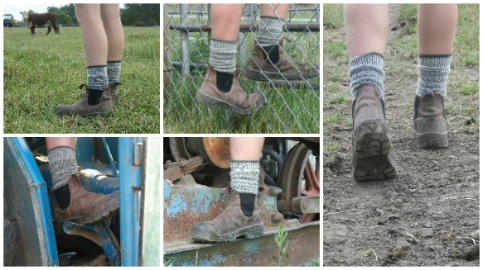 merino wool tough durable work farm socks cosy toes-236-306