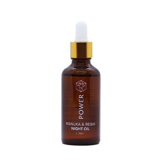 Manuka & Reishi Night Oil for smooth, even-toned and radiant skin