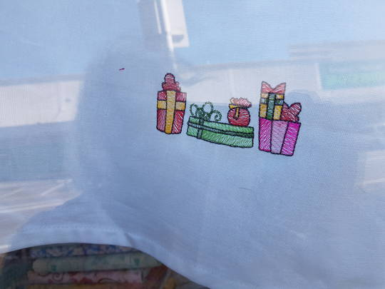 Tea Towel- Christmas- Presents