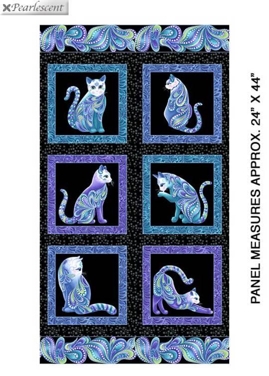 Cat-i-tude Singing the Blues- Panel