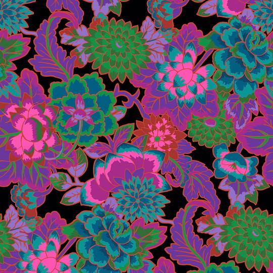 Fabric-kaffe- Cloisonne- purple