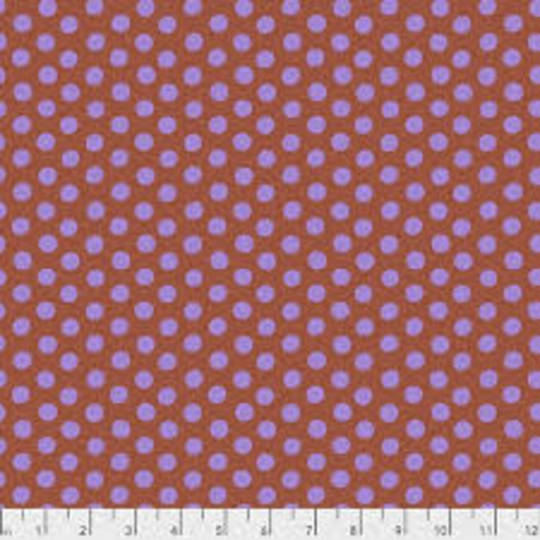 Fabric-Kaffe Dots - Cinnamon