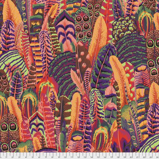 Fabric- Kaffe  Feathers-Summer   .