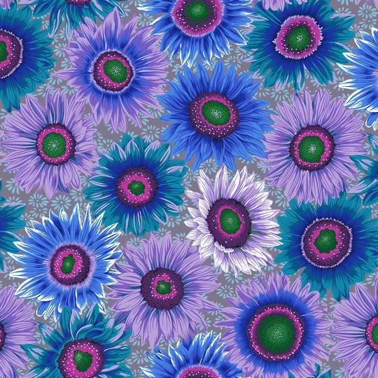 Fabric-Kaffe-Van Gogh-blue