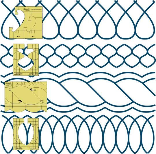 Westalee Sampler Border Set