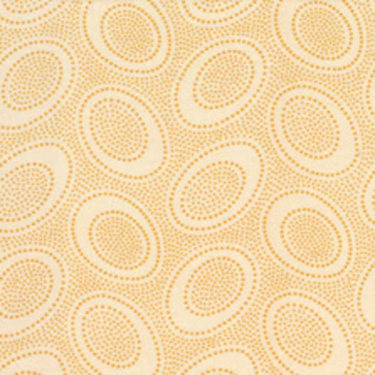 Fabric-Kaffe Aboriginal dot