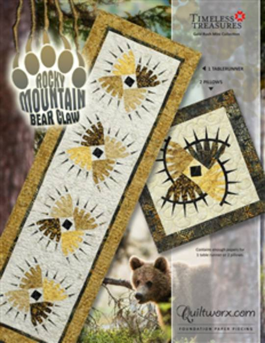 Quiltworx Rocky Mountain Bear Claw