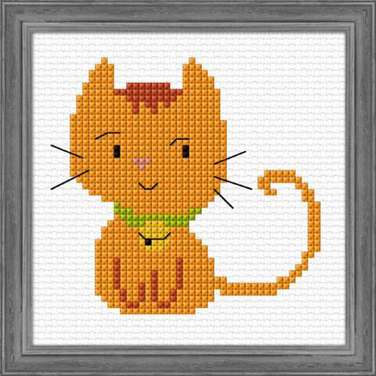 Kids craft- Ginger Kitten