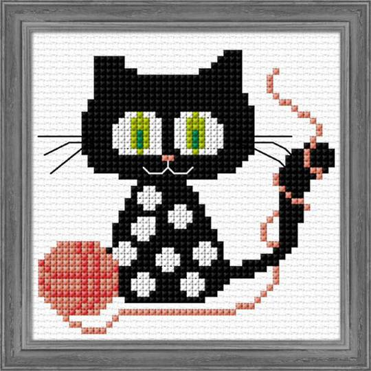 Kids craft- Knit Kitty