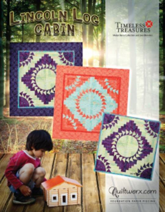 Quiltworx Lincoln Log Cabin