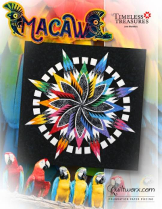 Quiltworx Macaw