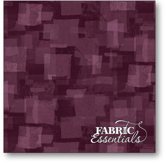 Fabric-- Scrap Squares- purple
