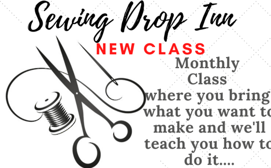 Workshop - Drop Inn Sewing