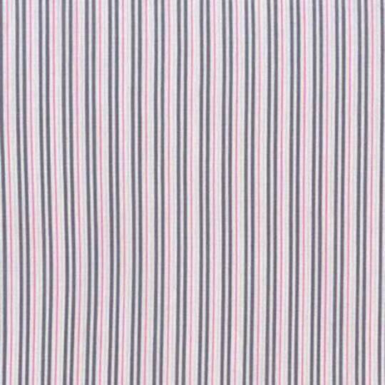 Fabric-Ticking Away - Pink