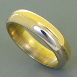 Wedder in Yellow and White Gold