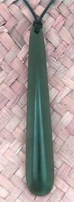 Greenstone Drop Pendant