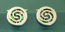CL1 Koru Spiral Cufflinks