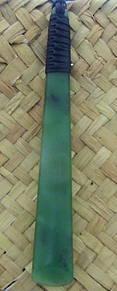 Greenstone Adze or Toki Pendant