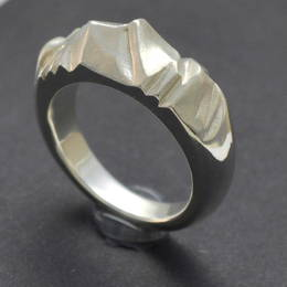 "The ""Mt. Cook"" or ""Aoraki"" in Stg.(.925) Silver"
