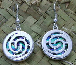 E8 Double koru  Earring