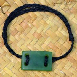 Greenstone Bracelet (Mens)