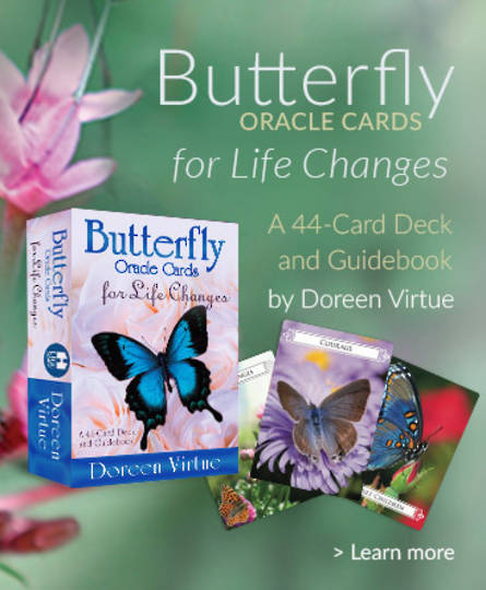 Butterfly Oracle Cards by Doreen Virtue