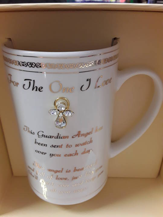 For The One I Love Guardian Angel Mug