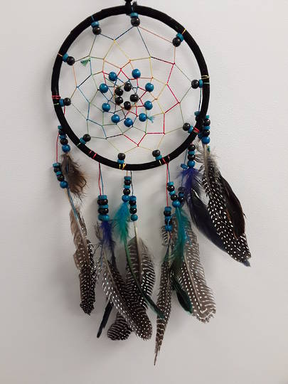 Spotted Feather Dreamcatcher