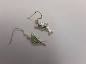 Paua Dolphin Earrings