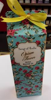 Herbal Massage Oil Opium Flower