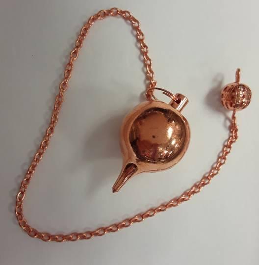 Round Copper Metal Pendulum