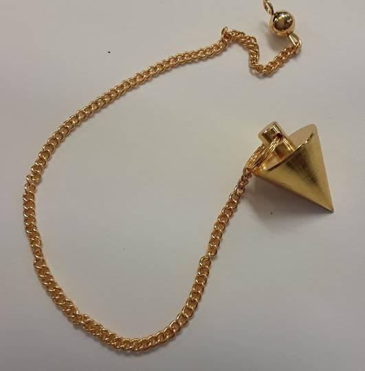 Small Gold Metal Pendulum