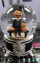 Pumpkin Man Musical Waterball