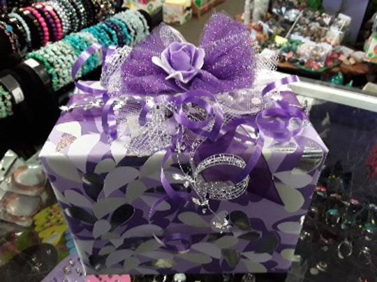 Purple Themed Free Gift Wrapping