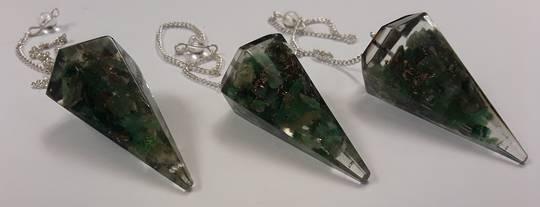 Green Aventurine Orgonite Pendulum