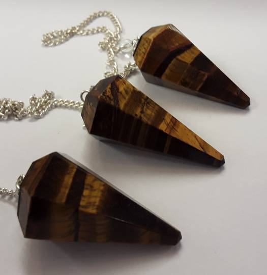 Basic Tiger Eye Pendulum