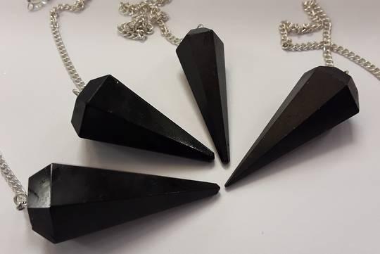 Basic Black Tourmaline Pendulum