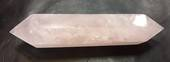 Double Terminated Rose Quartz Crystal Wand {rqb)