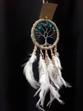 Turquoise Howlite Crystal Tree 9cms